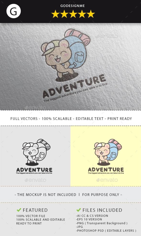 Adventure Logo Design - Vector Abstract