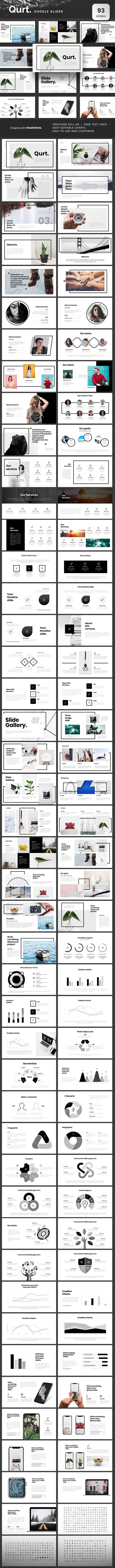 Qurt Google Slides - Google Slides Presentation Templates