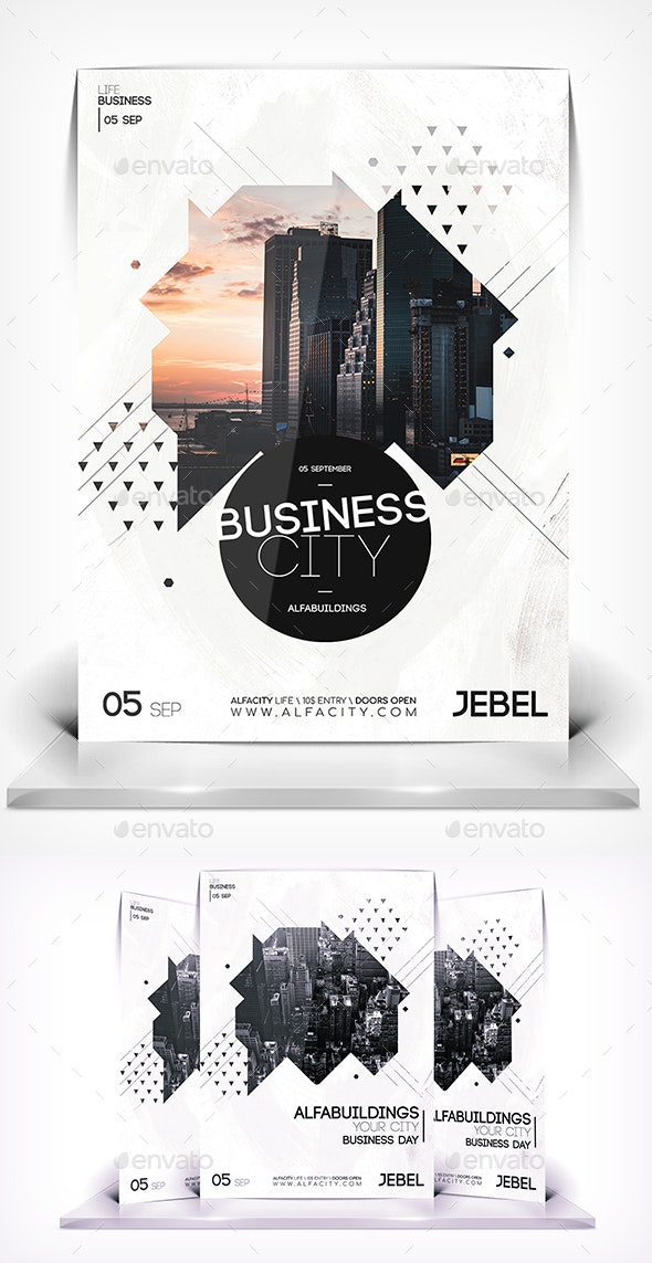 City Business Flyer - Flyers Print Templates
