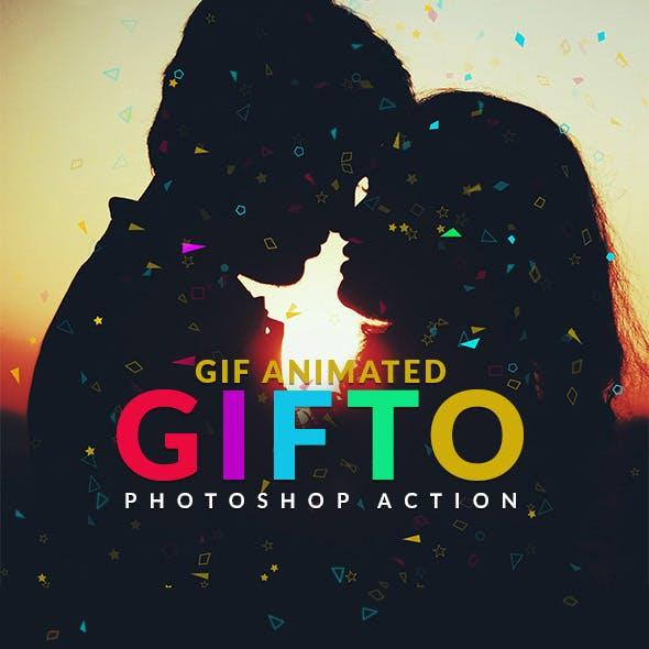Gifto Gif Animated Photoshop Action