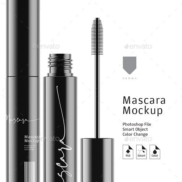 Mascara Mockup Gloss