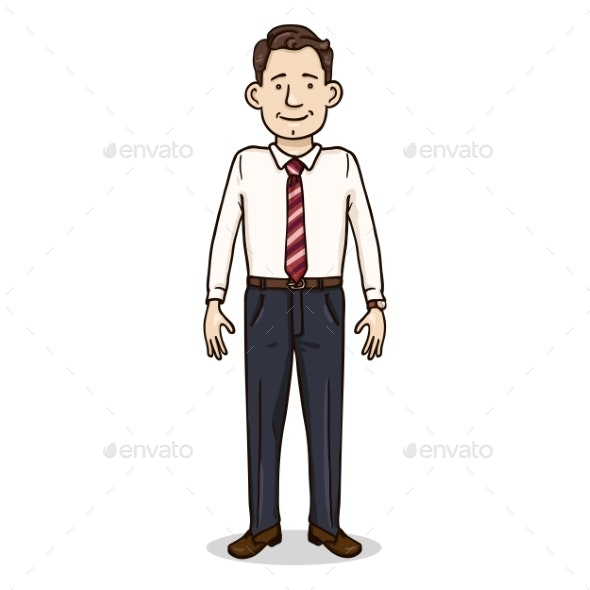 Vector Cartoon Color Character - People Characters