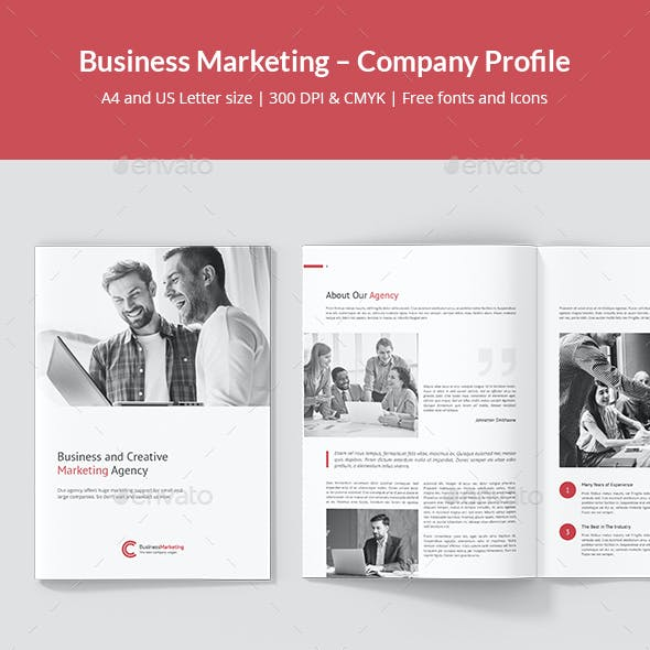 Business Marketing – Company Profile