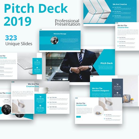 Pitch Deck 2019 Powerpoint Presentation Template