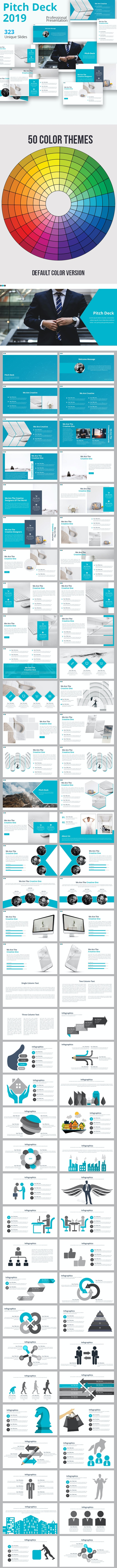 Pitch Deck 2019 Powerpoint Presentation Template - Business PowerPoint Templates