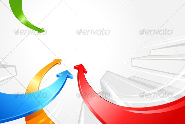 Arrows moving forward - Backgrounds Decorative