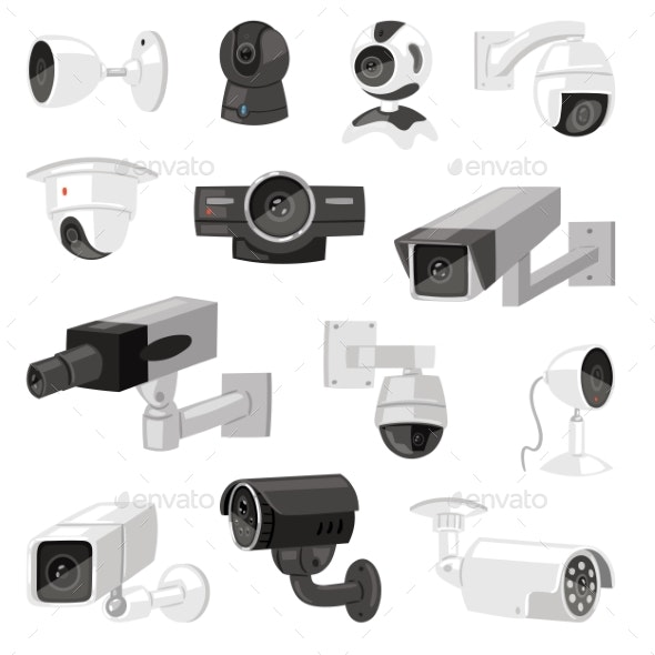Security Cameras - Man-made Objects Objects