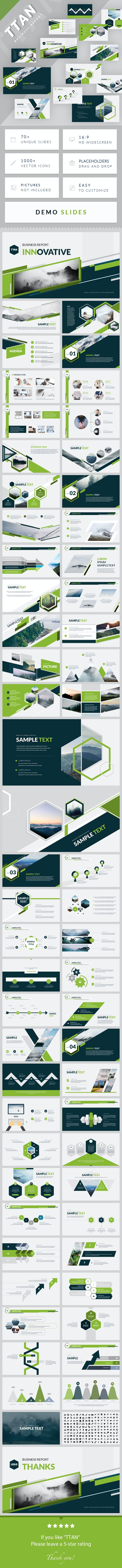 TTAN - Minimal Simple Google Slides Template - Google Slides Presentation Templates