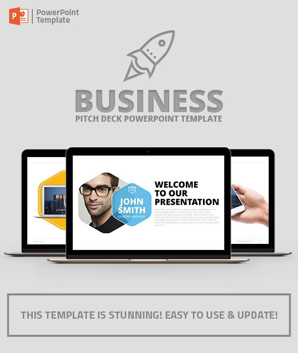 Company Profile PowerPoint Presentation Template - Business PowerPoint Templates