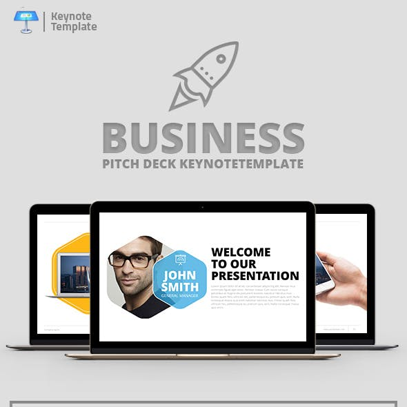 Company Profile Keynote Presentation Template