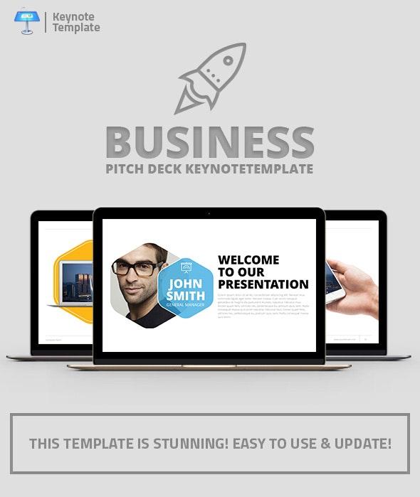 Company Profile Keynote Presentation Template - Business Keynote Templates