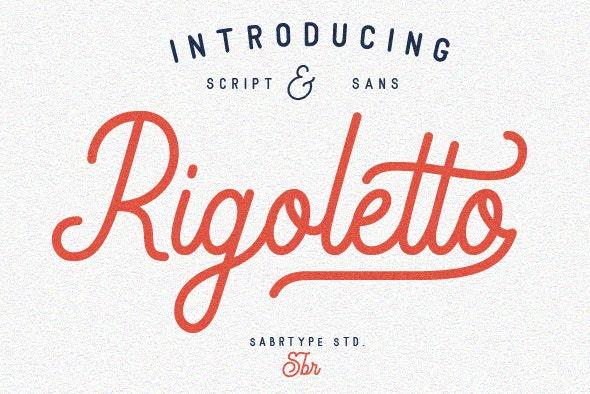 Rigoletto Script 70 Alternates - Calligraphy Script