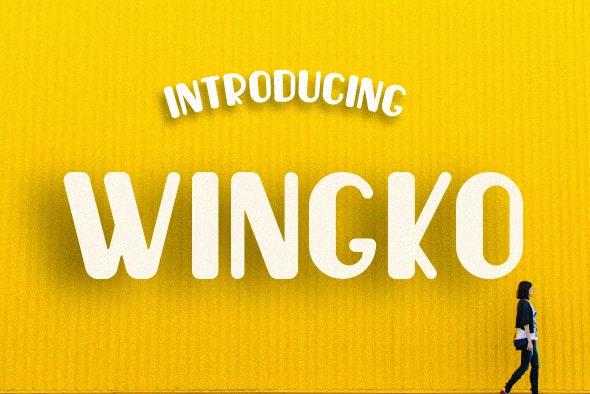 Wingko - Miscellaneous Sans-Serif
