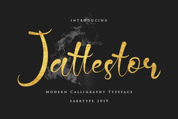Jattestor - Calligraphy Script