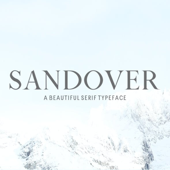 Sandover Serif Font Family