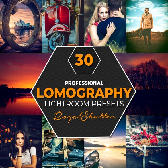 30 Lomography Lightroom Presets