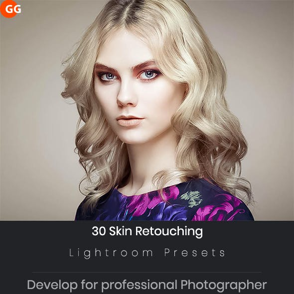 Skin Retouching Lightroom Preset