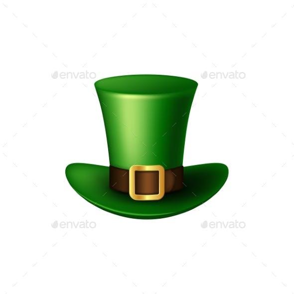 St. Patrick's Day Green Leprechaun Hat