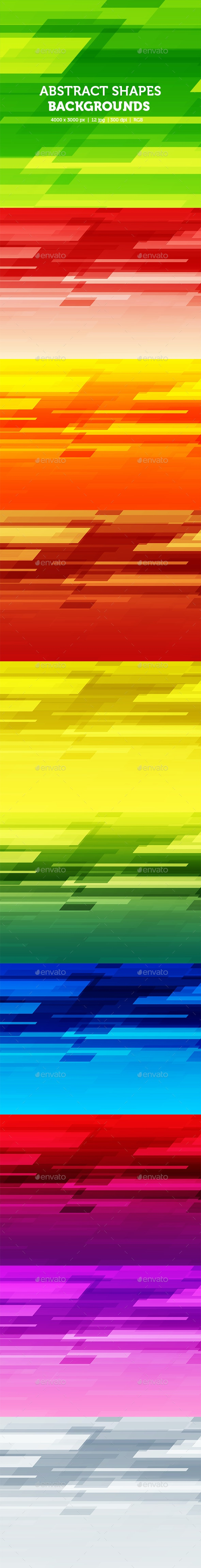Abstract Shapes Background - Abstract Backgrounds