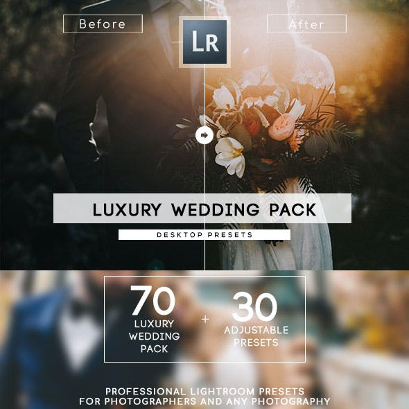 70+ Luxury Wedding Lightroom Presets