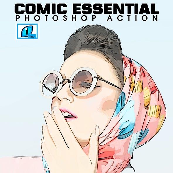 Comic Essential Photoshop Action