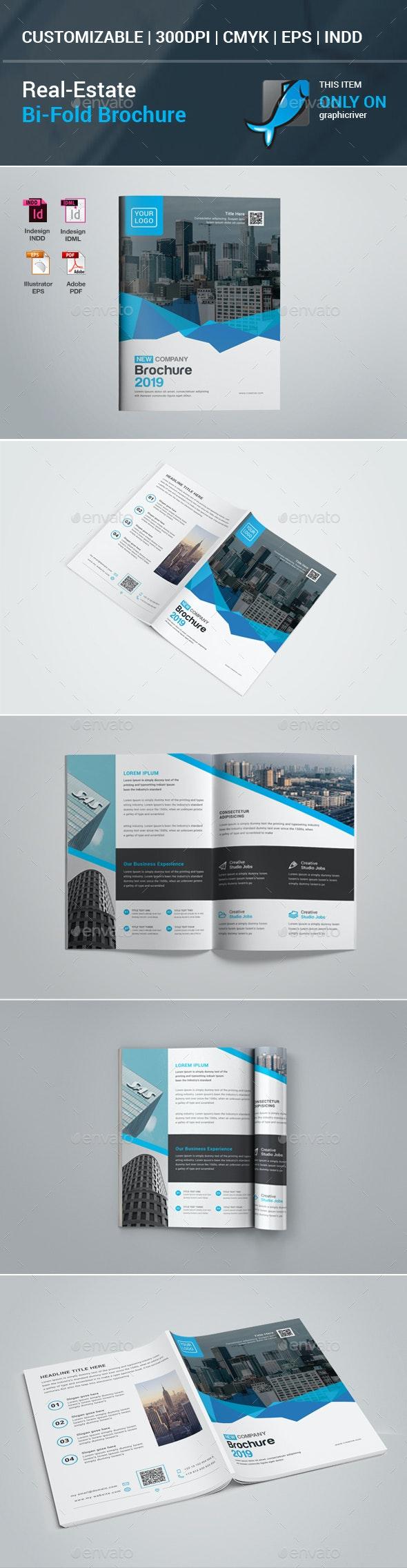Real Estate Bifold Brochure - Corporate Brochures