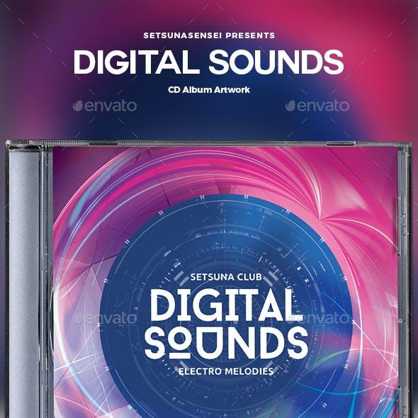 Digital Sounds CD Album Artwork