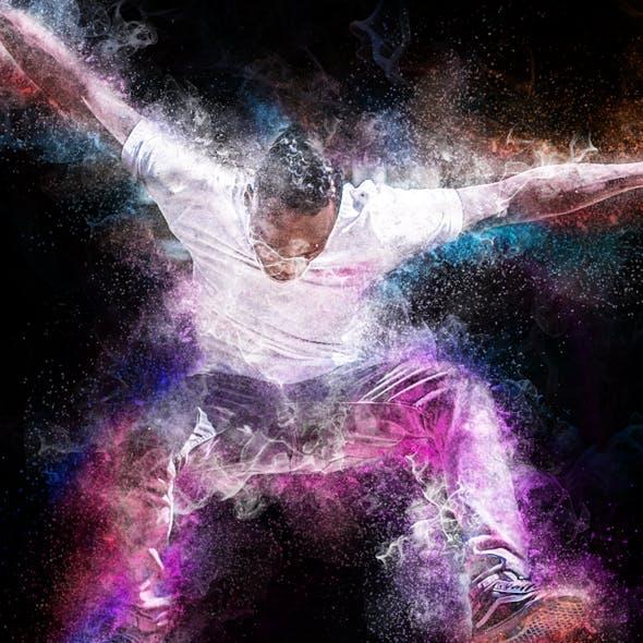 Amazing Body Power Photoshop Action