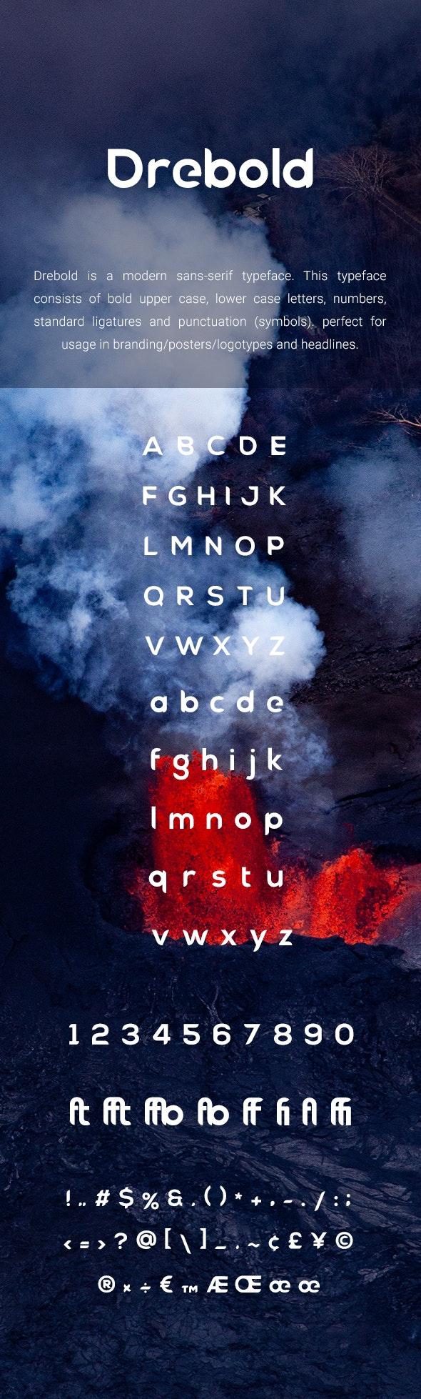 Drebold - Sans-Serif Fonts