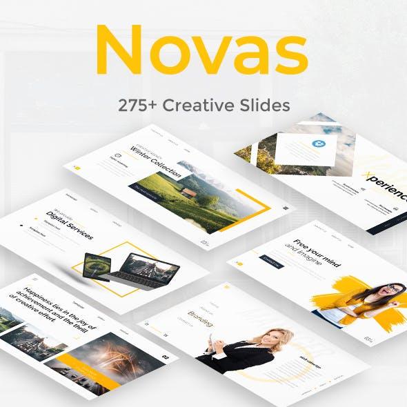 Novas Premium Powerpoint Template