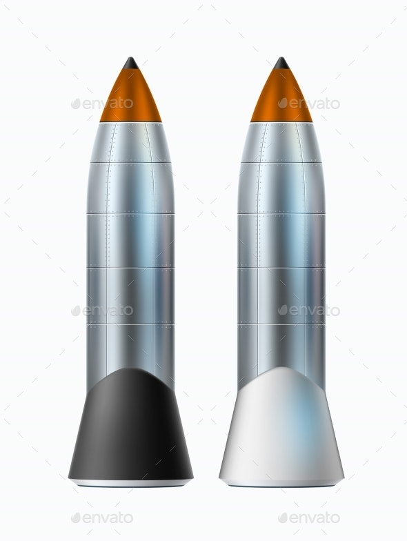 Vector Spacecraft Engine Rocket Mock Up Realistic - Man-made Objects Objects