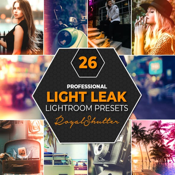 26 Light Leak Lightroom Presets