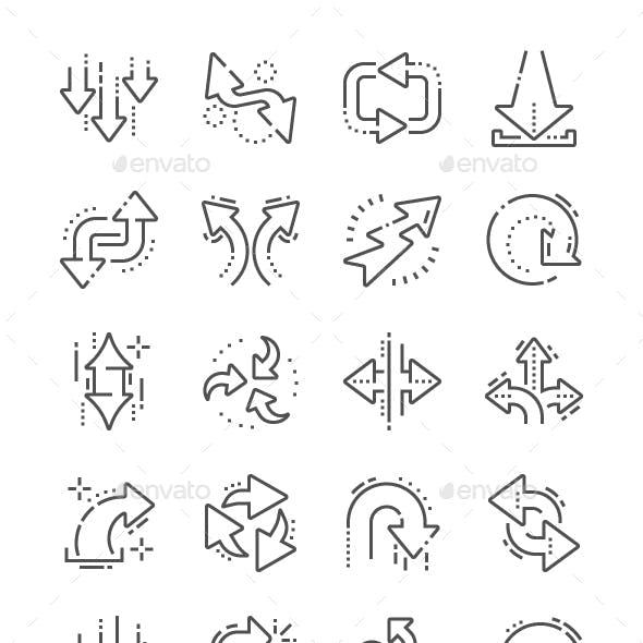 Arrows Line Icons