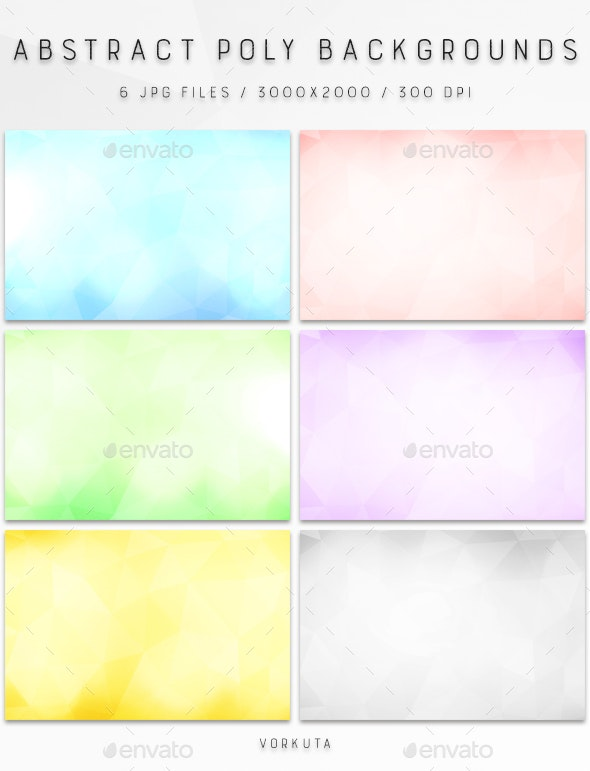 Abstract Poly | Backgrounds - Abstract Backgrounds