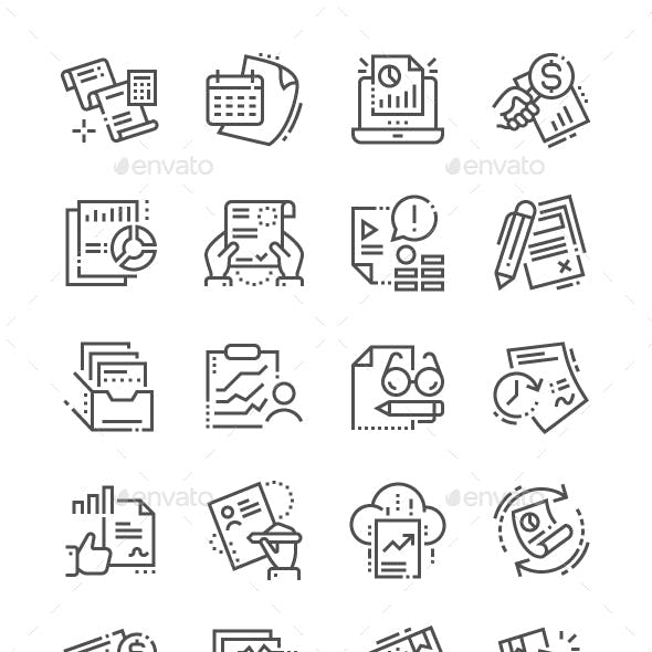 Report Line Icons