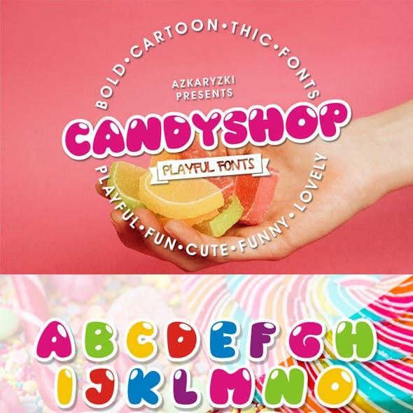 Candyshop Fun Font