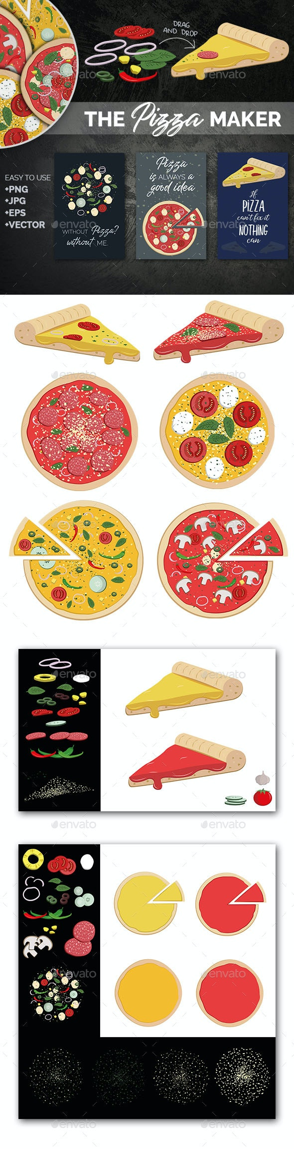 The Pizza Maker - Food Objects