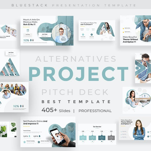 Project Alternatives Pitch Deck Powerpoint Template