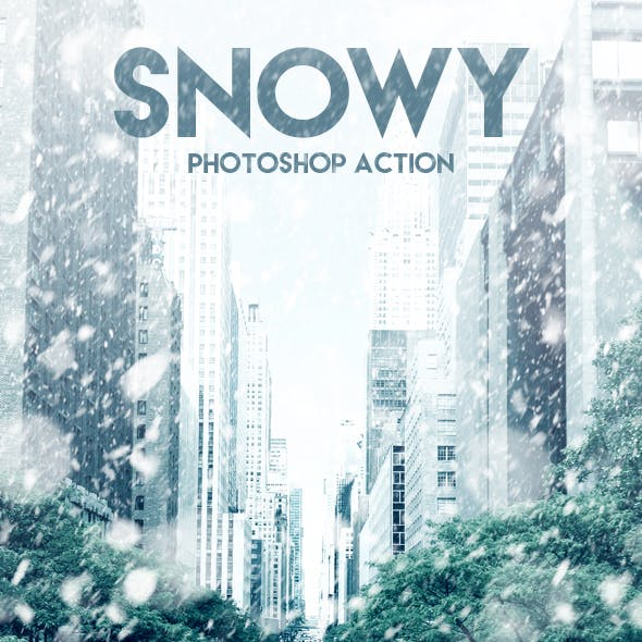Snowy Photoshop Action