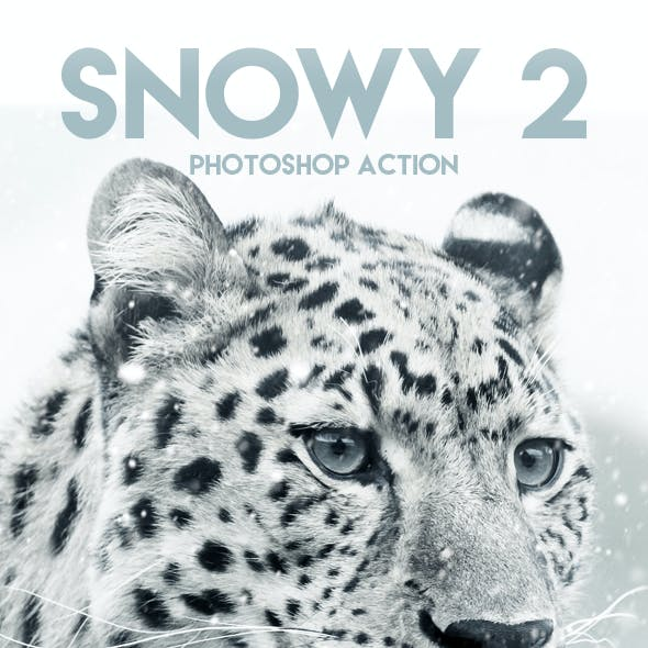 Snowy 2 Photoshop Action