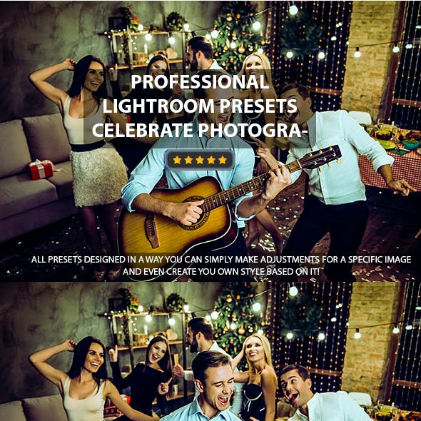 Celebrate Mobile Lightroom Presets