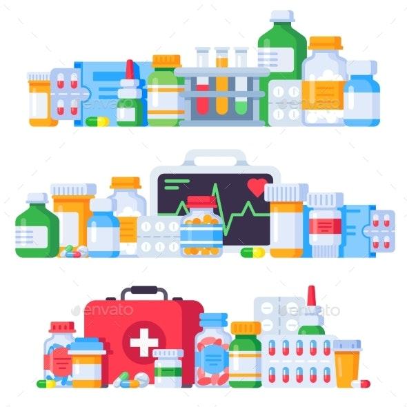 Medications - Health/Medicine Conceptual