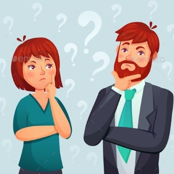 Thinking Couple