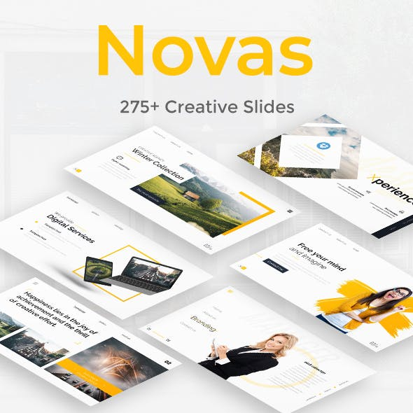 Novas Premium Google Slide Template