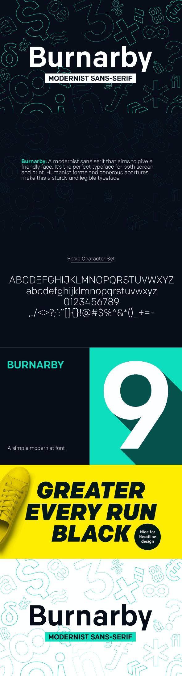 Burnarby Sans - Miscellaneous Sans-Serif