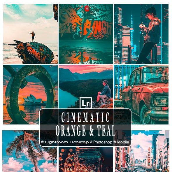 Cinematic Orange and Teal Lr Presets
