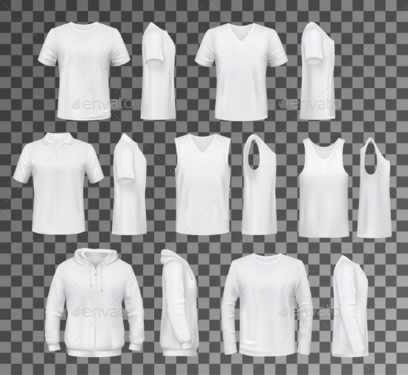 Male Clothes Isolated - Man-made Objects Objects