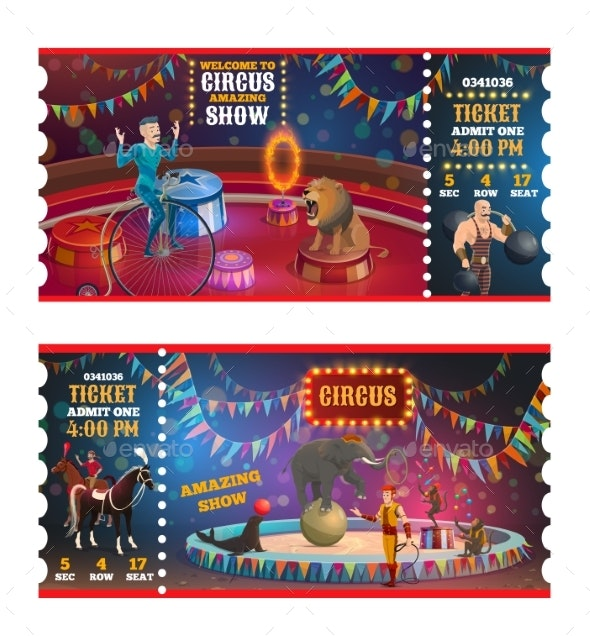 Circus Magic Show Tickets - Industries Business