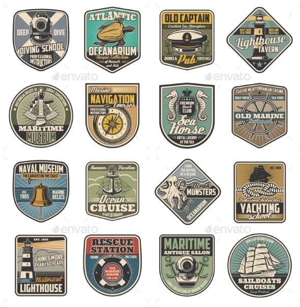 Marine Heraldry - Decorative Symbols Decorative