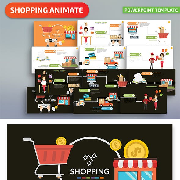 Shopping Powerpoint Presentation